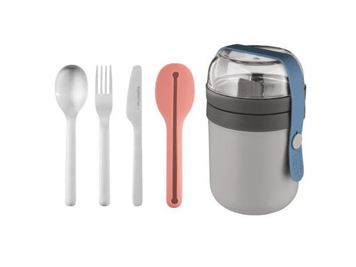 Leo 5pc Travel Lunch Set, 0.5qt