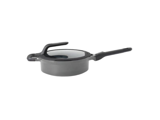"BergHOFF GEM 10"" Stay-Cool Covered Sauté Pan, Grey"