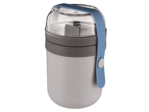 BergHOFF Leo 0.5qt Dual Lunch Pot, Grey & Blue