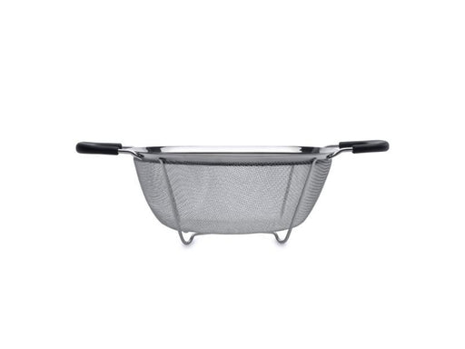 "Essentials 7.68"" Stainless Steel Round Mesh Colander"