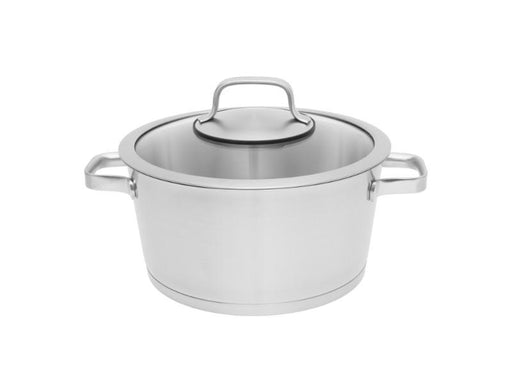"Manhattan 11"" Stainless Steel Covered Stockpot 8.8Qt"