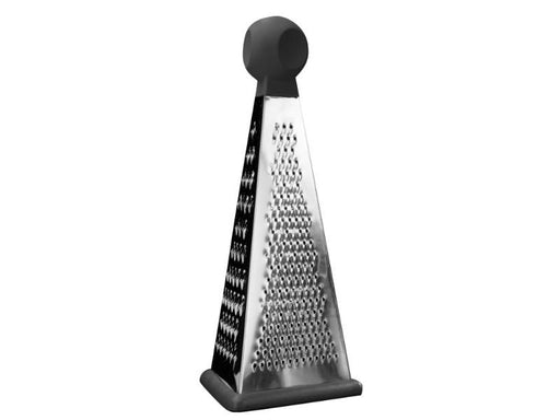 "Essentials 8"" Stainless Steel 3-Sided Grater"