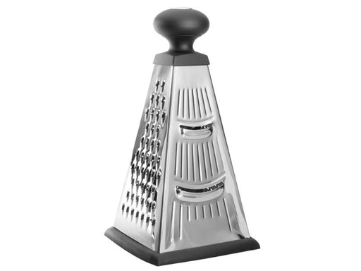 "Essentials 10"" Stainless Steel 4-Sided Pyramid Grater"