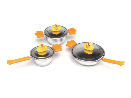 Children's Line Sheriff Duck 6 Pieces Cookware Set