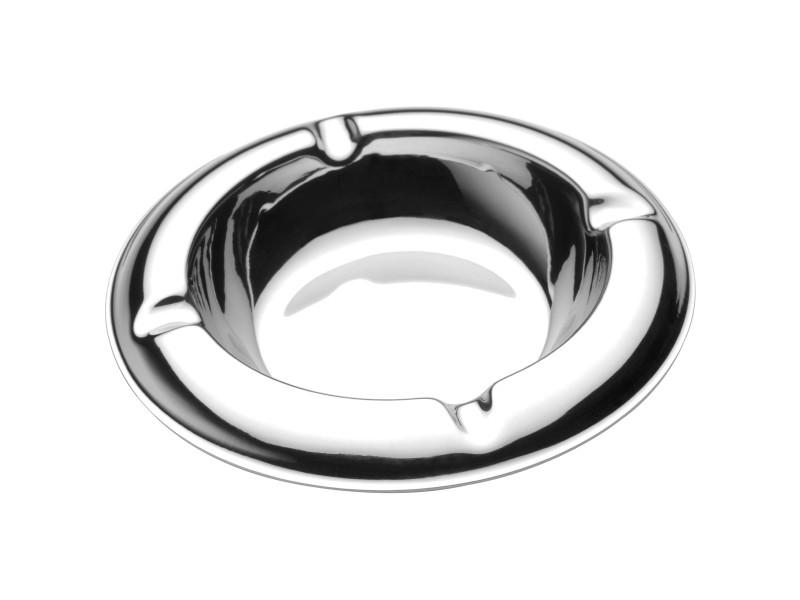 "Classic 5"" Stainless Steel Ashtray"