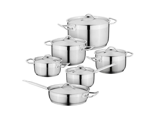 Essentials SS 12 Pieces Cookware Set