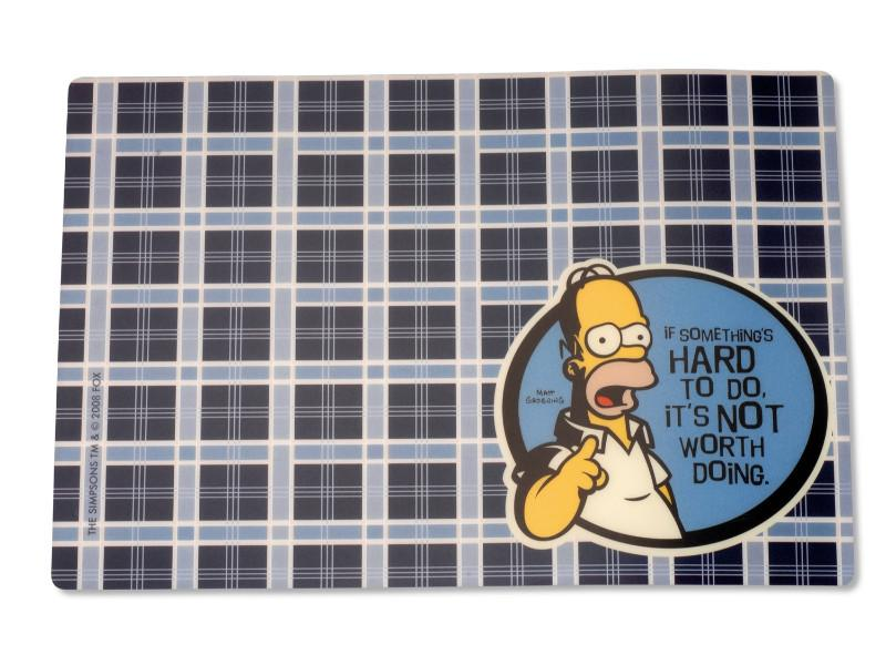 Simpsons Homer 4Pc Placemat Set