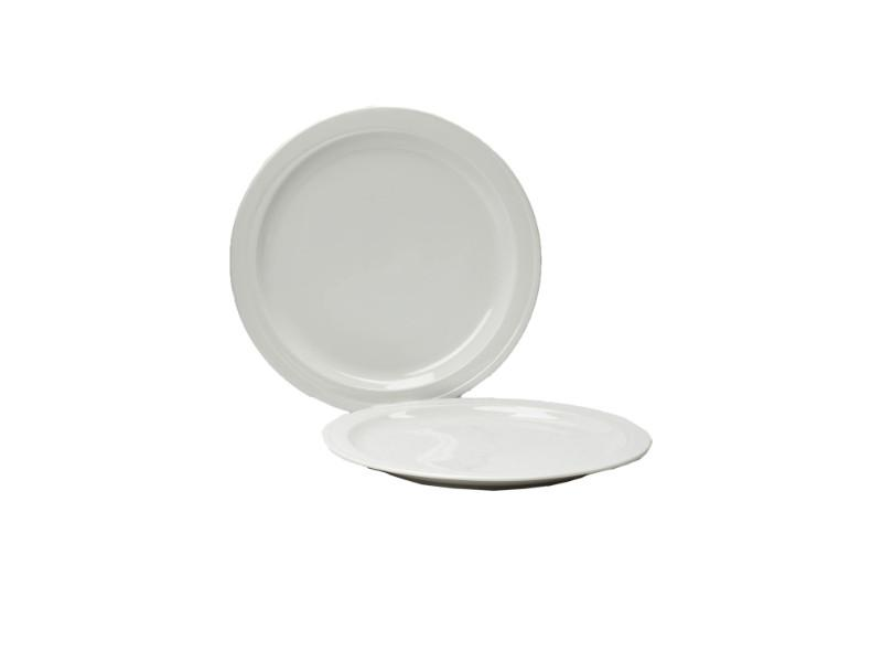 "12"" Porcelain Charger Plate (Individual)"