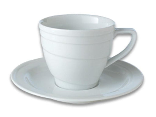 Eclipse 4oz Porcelain Cup & Saucer