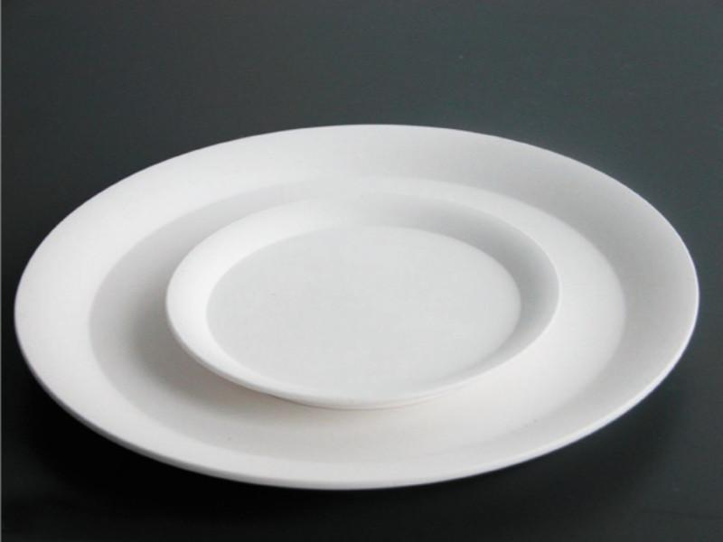 Concavo 6.25'' Porcelain Plate (Individual)