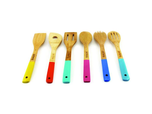 CooknCo 6Pc Bamboo Utensil Set