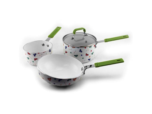 CookNCo 4Pc Children's Cookware Set, Boys