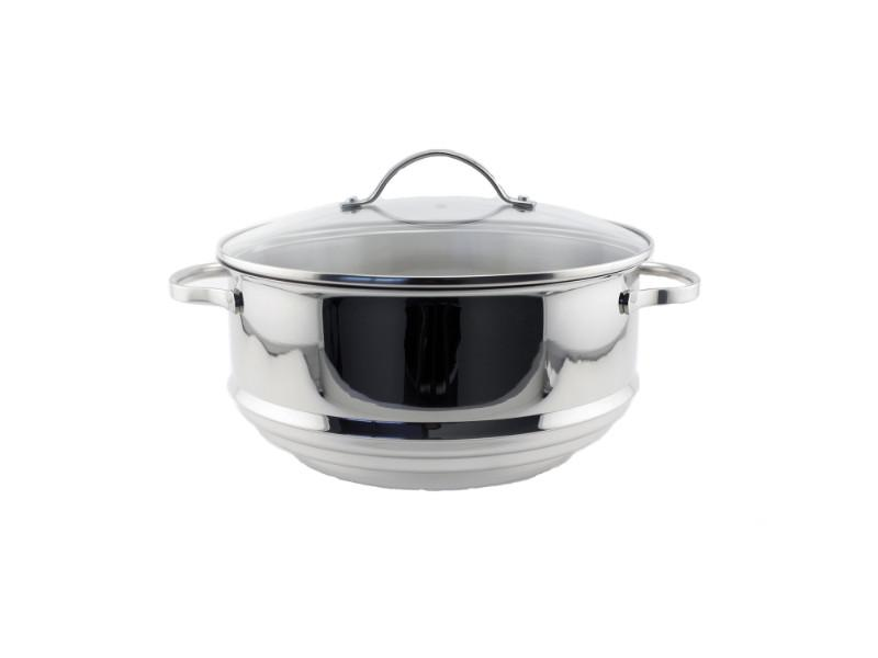 Premium 2Pc Stainless Steel Steamer Set