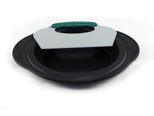 "Perfect Slice 11"" Pie Pan with Tool"