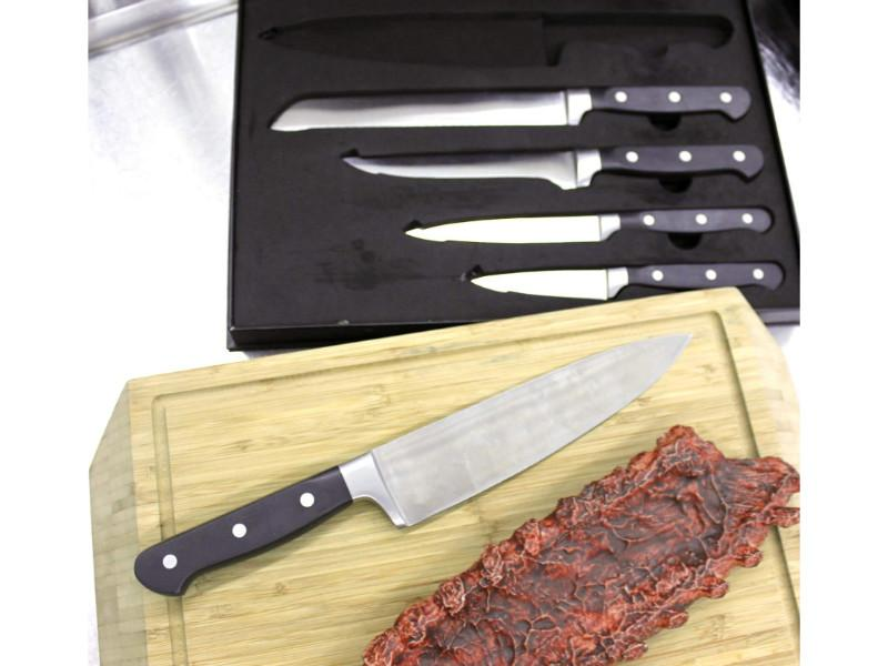 Contempo 5Pc German Steel Knife Set