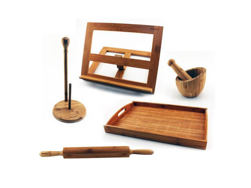 Bamboo 6Pc Kitchen Prep Set
