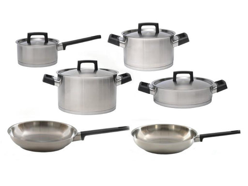 RON 10Pc Stainless Steel Cookware Set