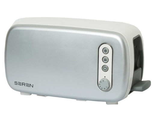 Seren Side Loading Toaster with Silver/Chrome Panel