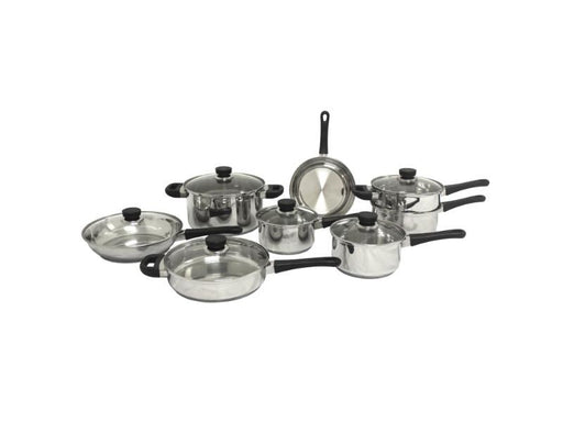 CooknCo 14Pc Stainless Steel Cookware Set