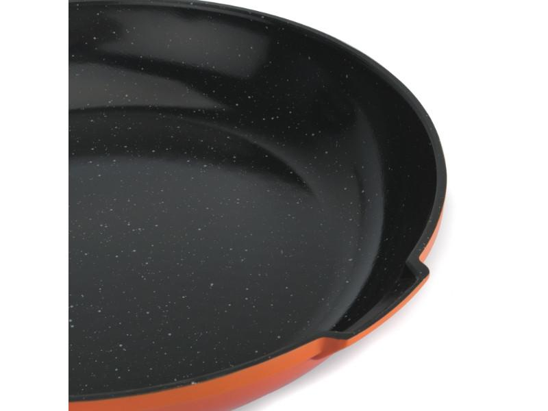 "Virgo 8"" Non-Stick Fry Pan, Orange"