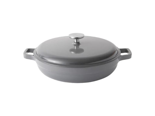 "GEM 11"" Cast Iron Covered Sauté Pan 3.9 Qt"