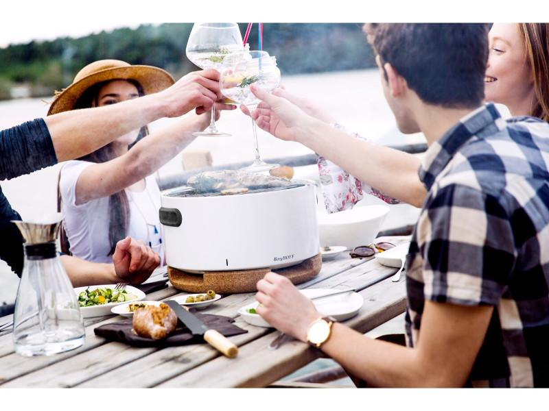 BergHOFF Tabletop BBQ - White