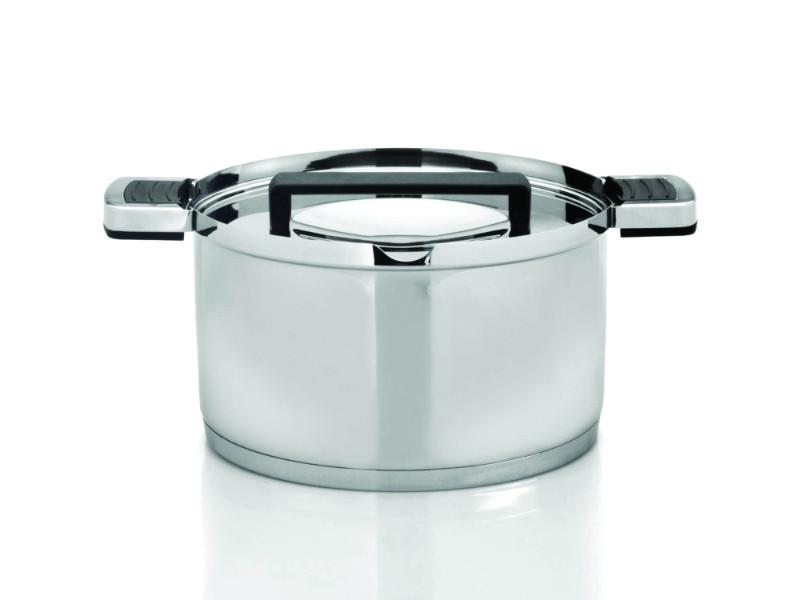 Neo SS Covered Casserole, 3.8 Qt, Poly Hndle