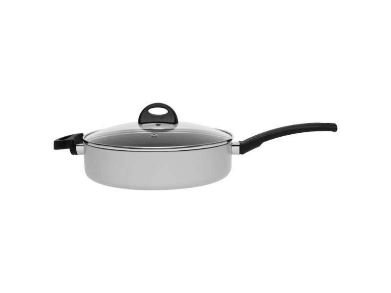 "Eclipse 10.25"" Non-Stick Covered Sauté Pan, Grey"