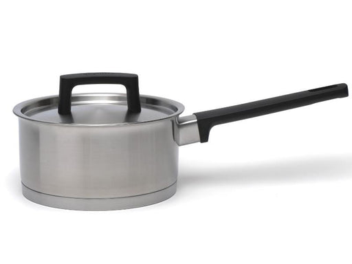 "Ron 6.25"" Stainless Steel Covered Sauce Pan"