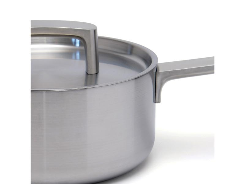 "Ron 7"" Stainless Steel 5-Ply Covered Sauce Pan"