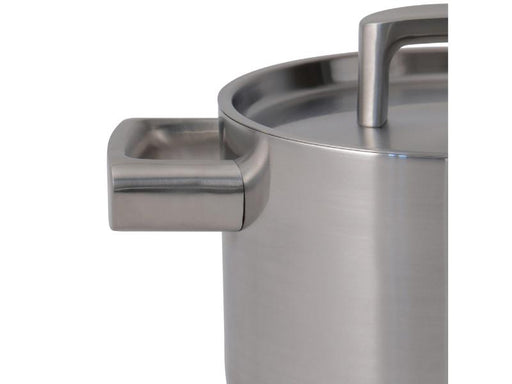 "Ron 7"" Stainless Steel 5-Ply Covered Casserole"