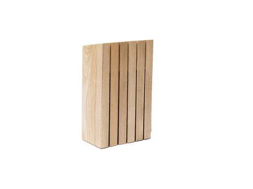 "Ron 6"" Wooden Knife Block"