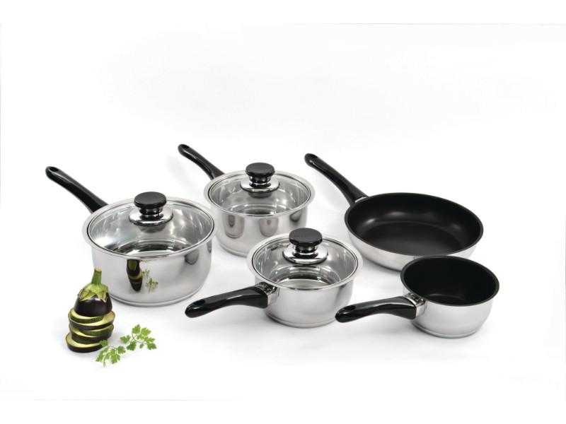 Vision 8Pc Stainless Steel Cookware Set