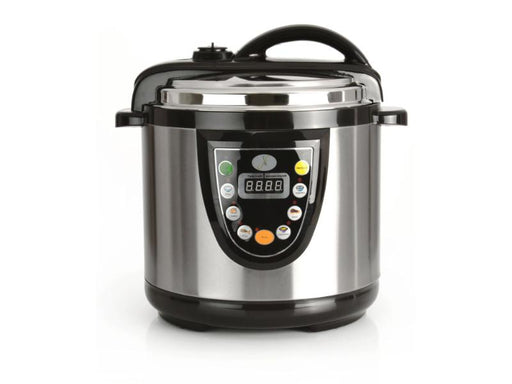 5-in-1 6.3 Qt Electric Pressure Cooker