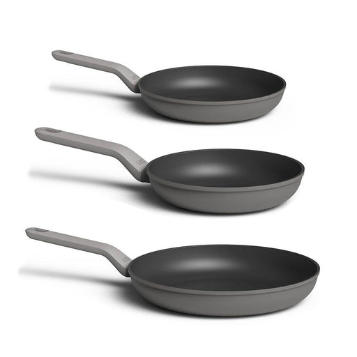 BergHOFF Leo 3Pc Non-Stick Fry Pan Set, Grey