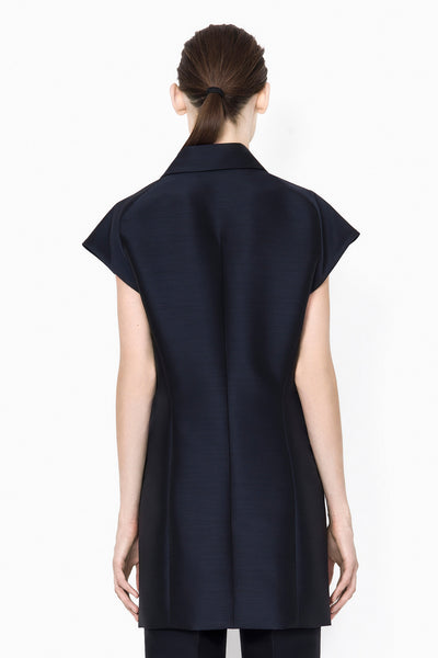 3.1 Phillip Lim Long Vest with Asymmetrical Rolled Lapel