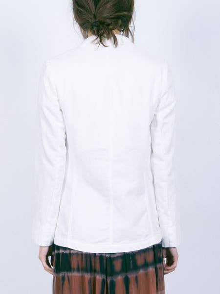 Raquel Allegra Washed Flannel Blazer