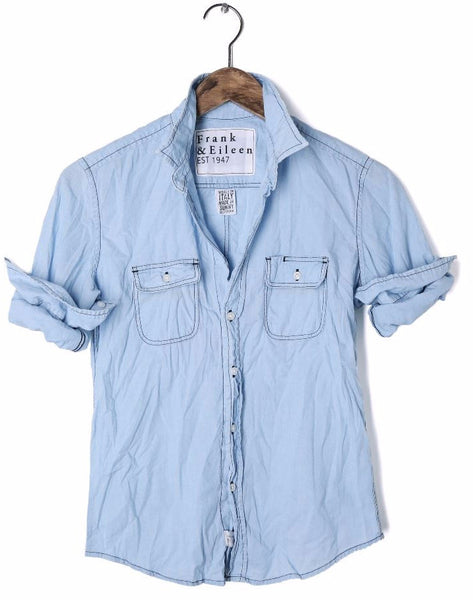 Frank and Eileen Victoria Button Up Chambray