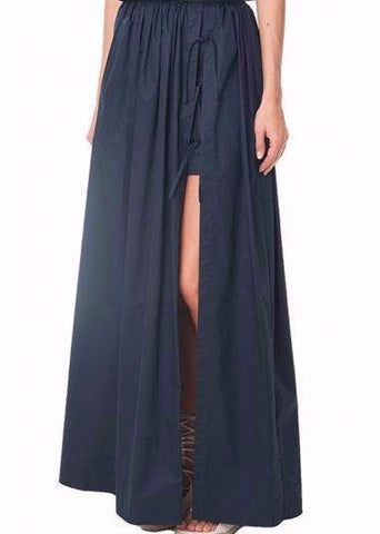 Tibi Maxi Skirt with Shorts