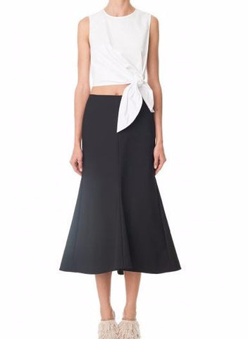 Tibi Cropped Tie Top