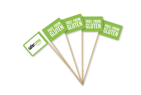 Food flags (pack of 10)