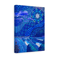 Moody HB Blues Canvas Gallery Wrap