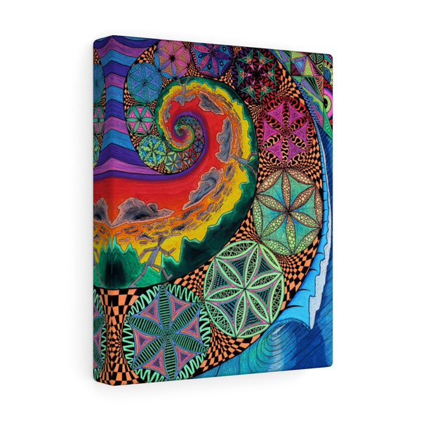Fibon-Finity Canvas Gallery Wrap