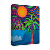 Palm Pop Canvas Gallery Wrap