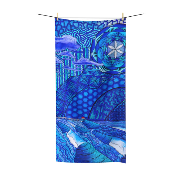 Moody HB Blues Polycotton Towel