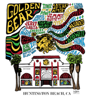 Golden Bear Bands T Shirt - Light Colors