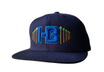 HB Palm Trees Snapback Hat