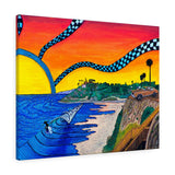 Swami's Sunset Canvas Gallery Wrap