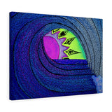 Peek-a-Boo Sunset Canvas Gallery Wrap