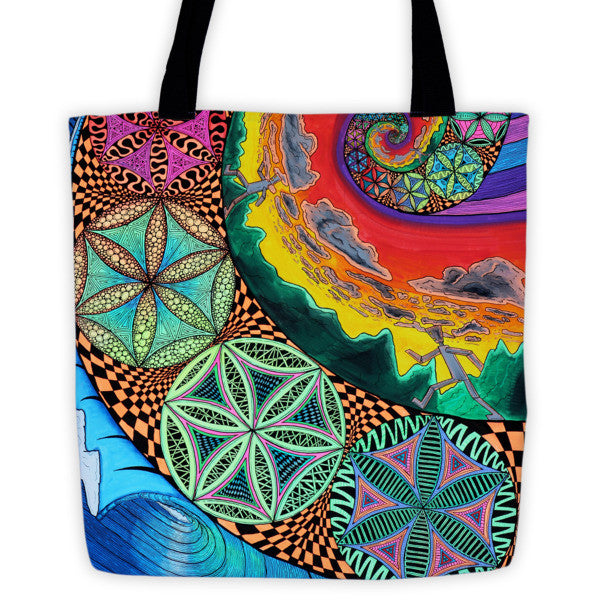 Fibon-Finity Tote bag